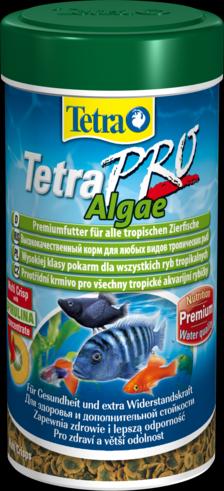 TetraPro Algae 250 мл Тетра про алгэ Чипсы для растительноядных рыб