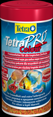TetraPro Color 250 мл Тетра про колор Чипсы для окраки рыб
