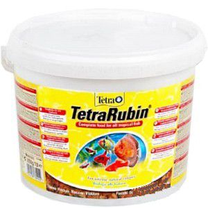 TetraRubin 10 литров (ведро) Тетра Рубин Хлопья
