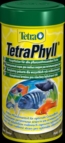 TetraPhyll 1 литр Тетра Филл Корм для растительноядных рыб, хлопья