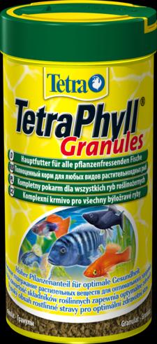 TetraPhyll Granules 250 мл Тетра Филл Корм для растительноядных рыб, гранулы