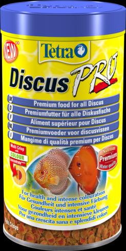 Tetra Discus Pro 500 мл Тетра Дискус Про Специальные чипсы для дискусов