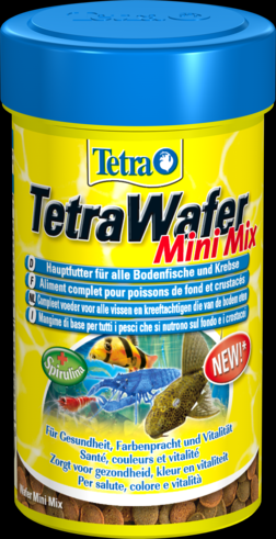 TetraWafer Mini Mix 100 мл Тетра Вафер Мини Микс Мини пластинки