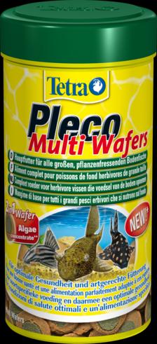 Tetra Pleco Multi Wafers 250 мл Тетра Плеко Мульти Ваферс Крупные пластинки