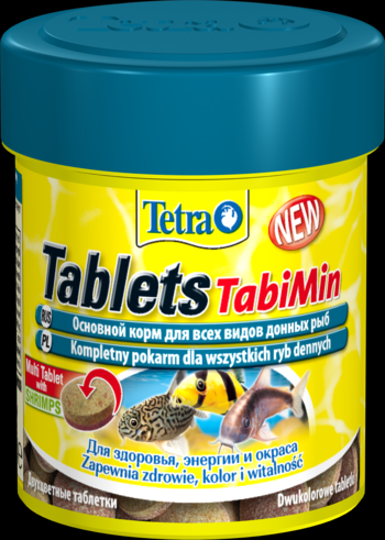Tetra Tablets TabiMin 120 таблеток ( 66 мл, 36 г) Тетра Таблетс Табимин