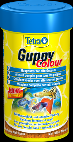 Tetra Guppy Colour 100 мл Тетра Гуппи Колор