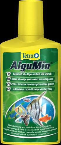 Tetra AlguMin 250 мл Cредство для предупреждения возникновения водорослей в аквариуме