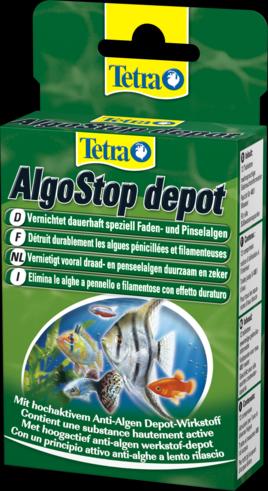 Tetra AlgoStop depot  12 таблеток Таблетки длительного действия для уничтожения водорослей