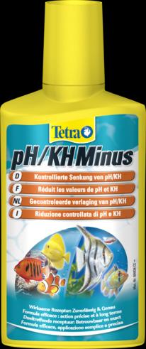 Tetra pH/KH Minus 250 мл Для снижения рН и стабилизации карбонатной жесткости воды