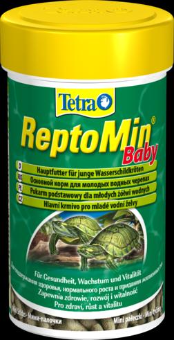 Tetra ReptoMin Baby 100 мл Корм для малодых черепах, мини палочки