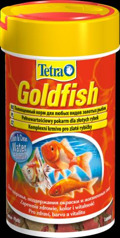 Tetra Goldfish 100 мл Тетра Голдфиш Корм для золотых рыбок, хлопья