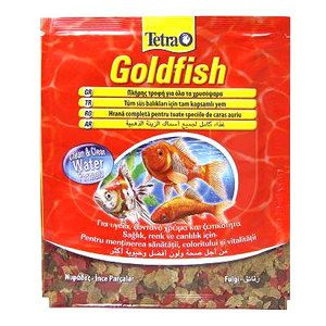Tetra Goldfish 12 г Пакетик Тетра Голдфиш Корм для золотых рыбок, хлопья