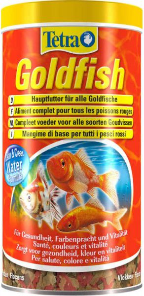 Tetra Goldfish 1 л Тетра Голдфиш Корм для золотых рыбок, хлопья