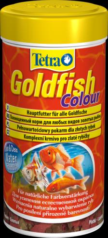 Tetra Goldfish Colour 250 мл Тетра Голдфиш Колор Корм для золотых рыбок, хлопья
