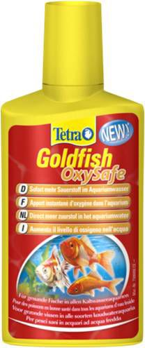 Tetra Goldfish OxySafe 100 мл  Средство для поддержания уровня кислорода в аквариуме с золотыми рыбами
