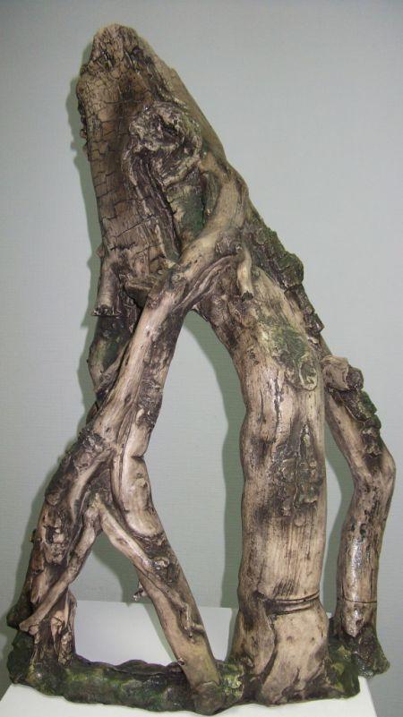 Коряга искусственная декорации для аквариума Deksi код 788 а
