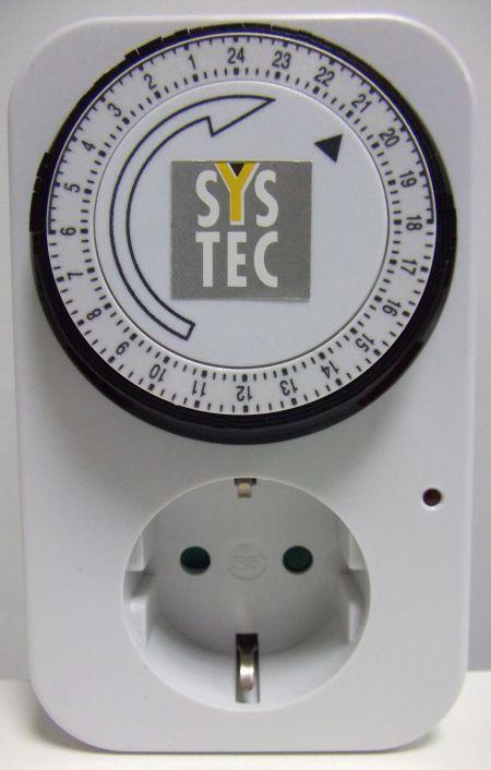 Таймер (реле времени) для аквариума на 24 часа - выключатель механический с выдержкой времени