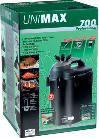 Aquael Unimax 700 Professional Акваэль Юнимакс 700 внешний фильтр, 2250 л/ч
