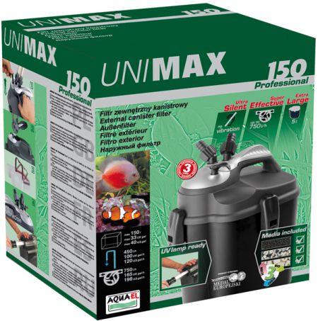 Aquael Unimax 150 Professional Акваэль Юнимакс 150 внешний фильтр, 450 л/ч