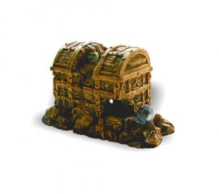 Сундук декорации для аквариума Deksi код 001
