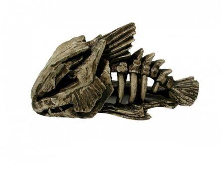 Скелет рыбы декорации для аквариума Deksi код 903