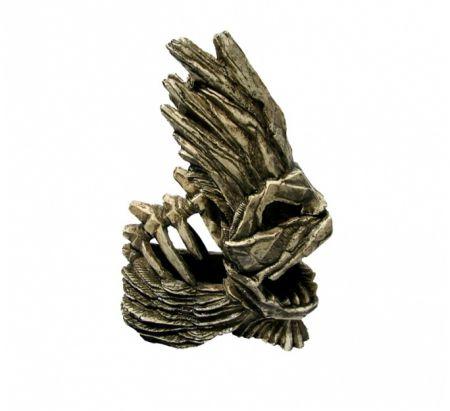 Скелет рыбы декорации для аквариума Deksi код 905