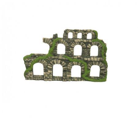Крепость односторонняя декорации для аквариума Deksi код 222
