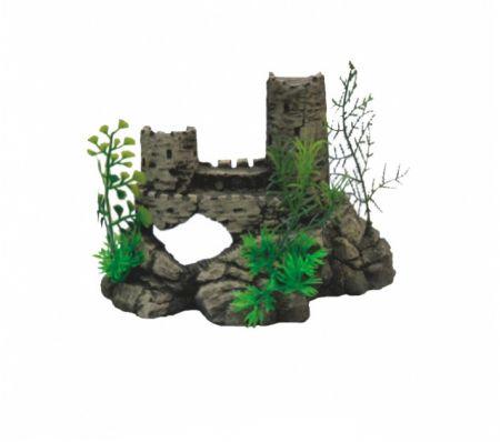 Крепость малая, серия мини декси декорации для аквариума Deksi код 622