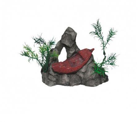 Корабль малый, серия мини декси декорации для аквариума Deksi код 652