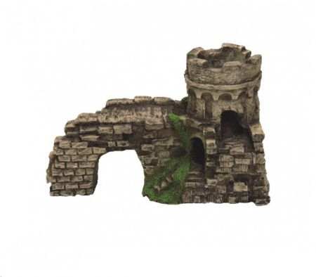 Крепость декорации для аквариума Deksi код 201
