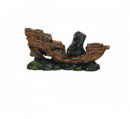 Корабль затонувший декорации для аквариума Deksi код 504