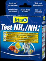 Tetra Test Ammonia 25 экспресс-полосок Тест Для определения общего количества аммиака