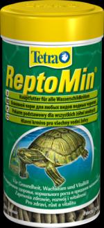 Tetra ReptoMin 1 литр Корм для водных черепах, палочки