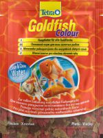 Tetra Goldfish Colour Sachet пакет 12 г  Тетра Голдфиш Колор Корм для золотых рыбок, хлопья