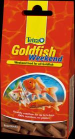 Tetra Goldfish Weekend 10 палочек Тетра Голдфиш Уикэнд Корм для золотых рыбок на 9 дней