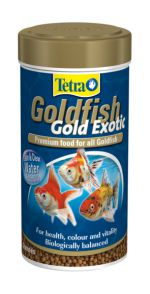 Tetra Goldfish Gold Exotic 250 мл Тетра Голдфиш Голд Экзотик Корм для золотых рыбок, гранулы