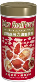 Tetra Red Parrot 250 мл Тетра Ред Пэррот Корм для красных попугаев Шарики