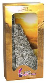 "H2Show декорация ""Пирамида ацтеков"" левая сторона Hydor"
