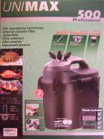 Aquael Unimax 500 Professional Акваэль Юнимакс 500 внешний фильтр, 2000 л/ч