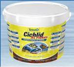 Tetra Cichlid XL Flakes 10 литров (ведро) Тетра цихлид крупные хлопья
