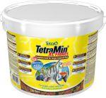TetraMin XL Flakes 10 литров (ведро) Тетра Мин Крупные хлопья