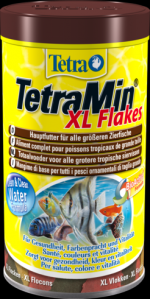 TetraMin XL Flakes 1 литр Тетра Мин Крупные хлопья